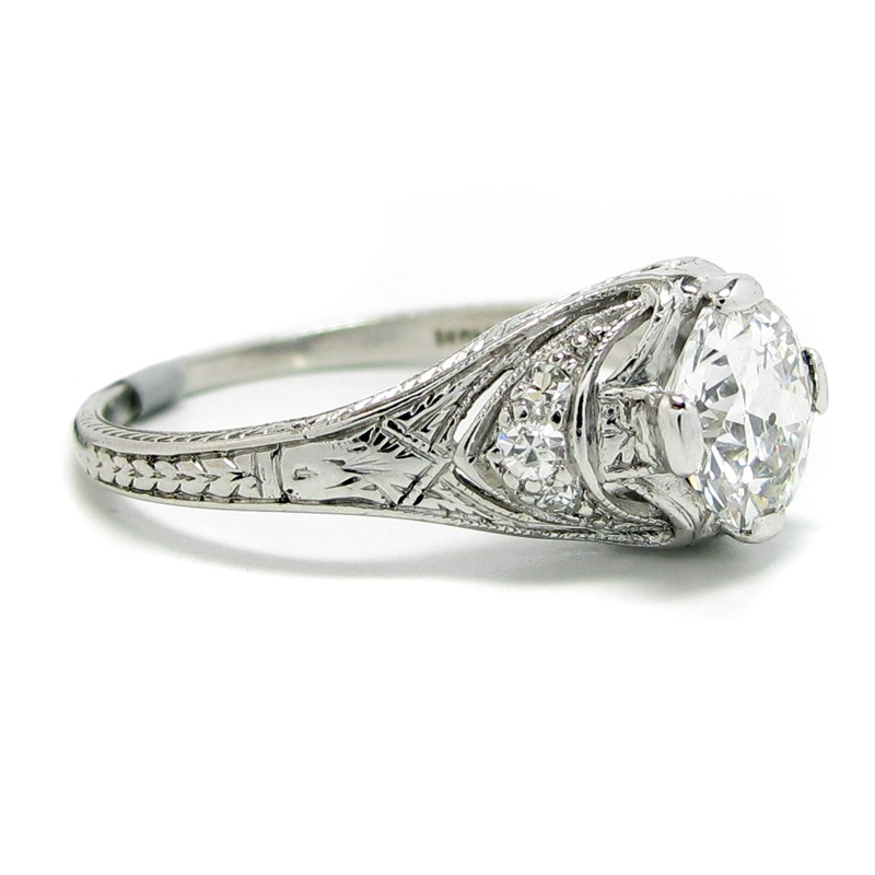 Vintage Engagement Rings Classic Engagement Rings Rings By Designer