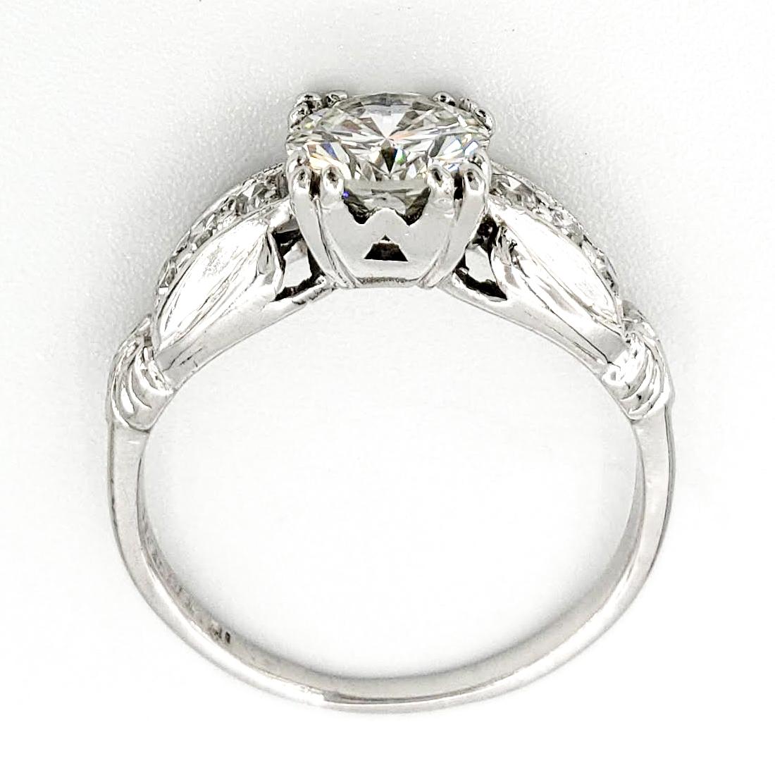 vintage-platinum-engagement-ring-with-0-82-round-brilliant-cut-diamond-egl-g-vs2