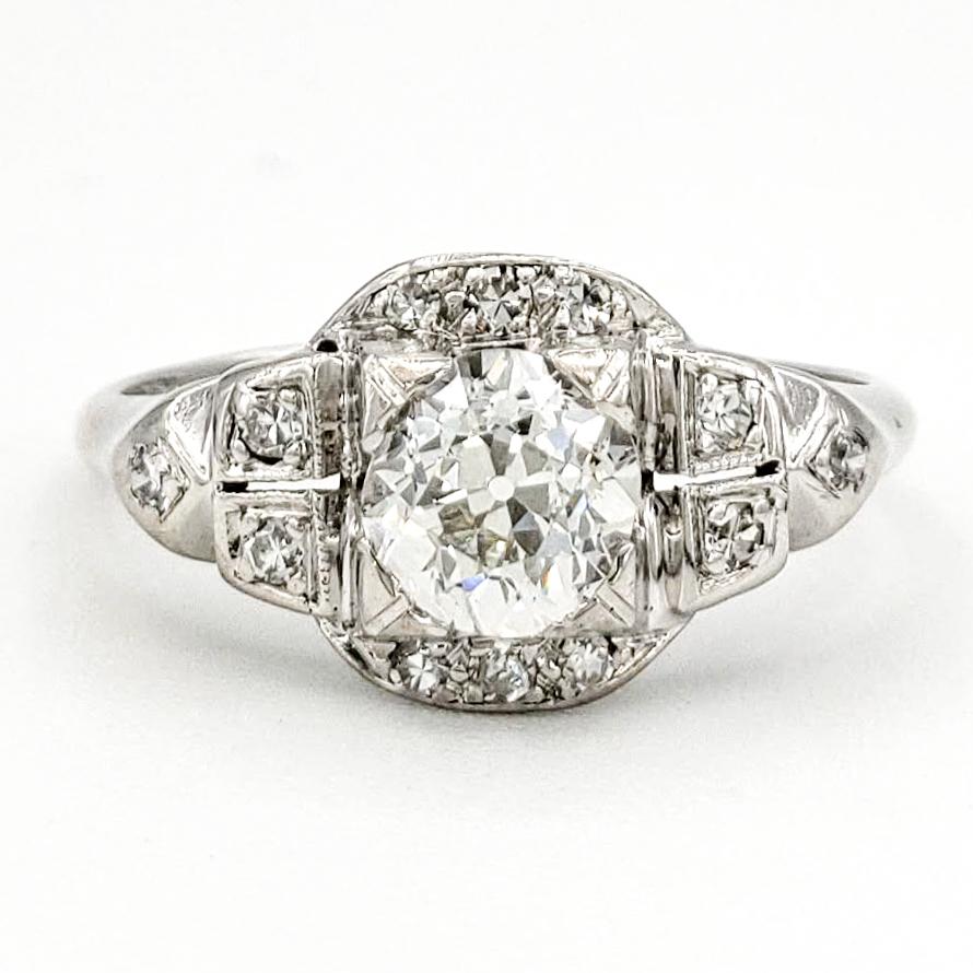 vintage-platinum-engagement-ring-with-0-50-old-european-cut-diamond-egl-g-vs1