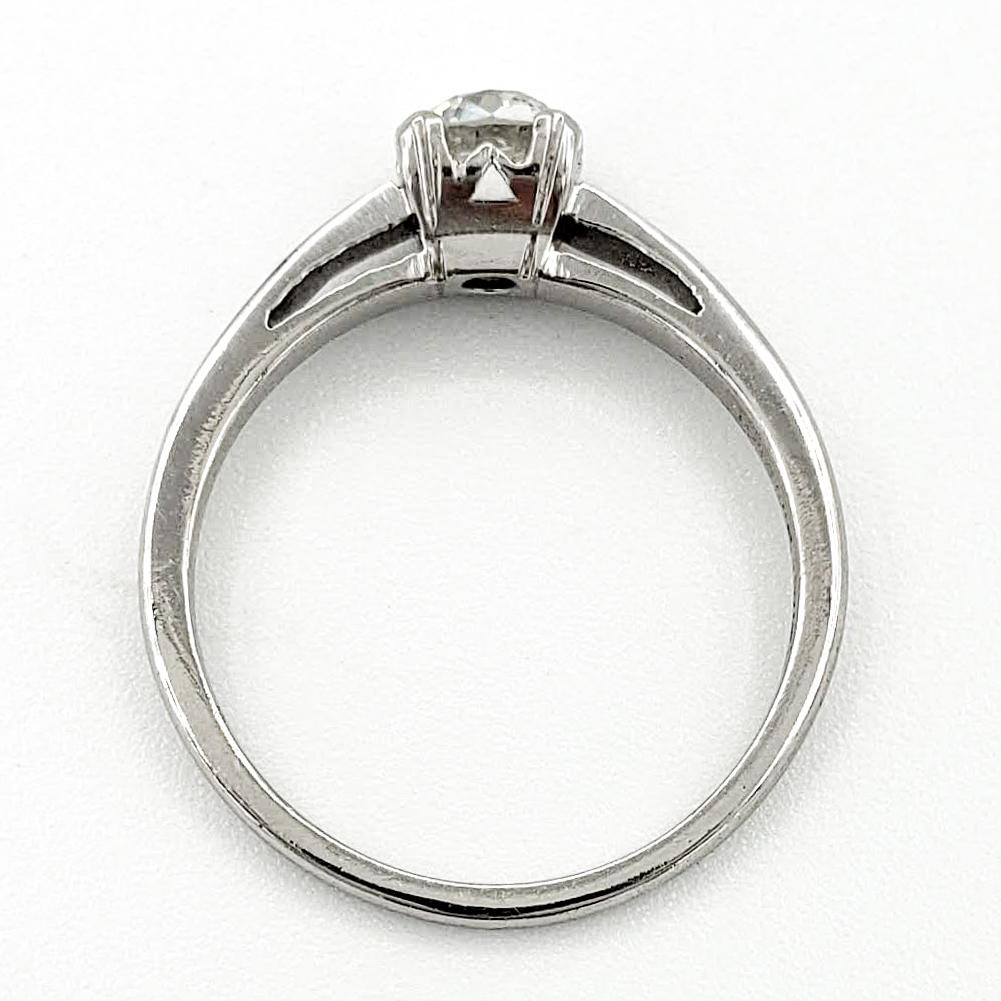 vintage-platinum-engagement-ring-with-0-50-carat-old-european-cut-diamond-egl-g-vs1