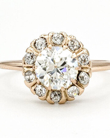 vintage-12-karat-gold-engagement-ring-with-0-93-carat-old-european-cut-diamond-egl-j-si1