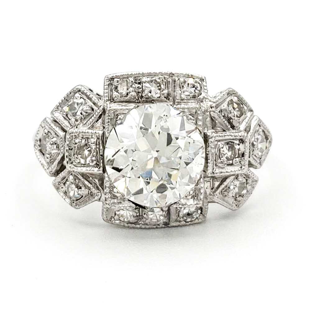 vintage-platinum-engagement-ring-with-1-04-carat-old-european-cut-diamond-egl-g-vs2