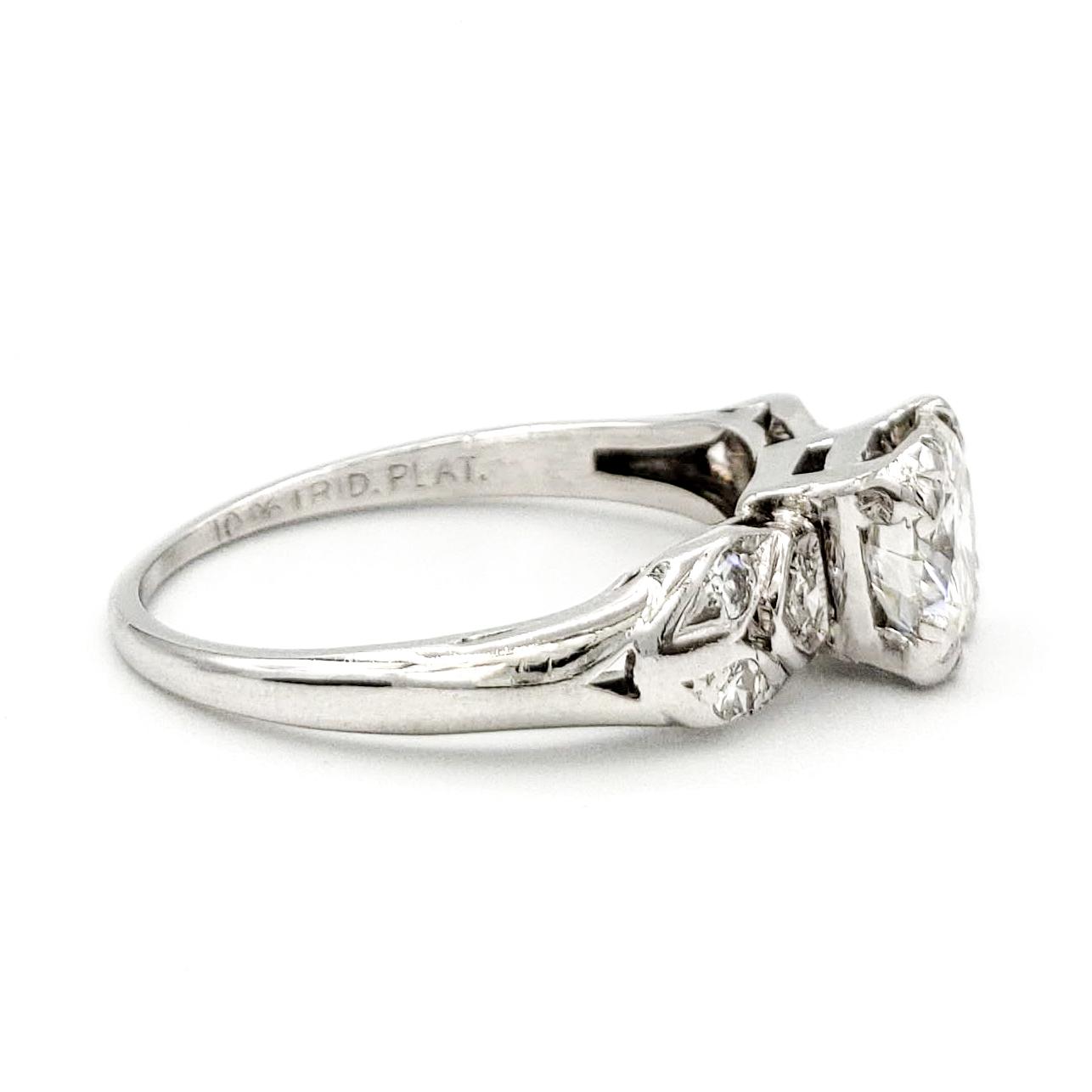 vintage-platinum-engagement-ring-with-0-72-round-brilliant-cut-diamond-egl-g-vs1