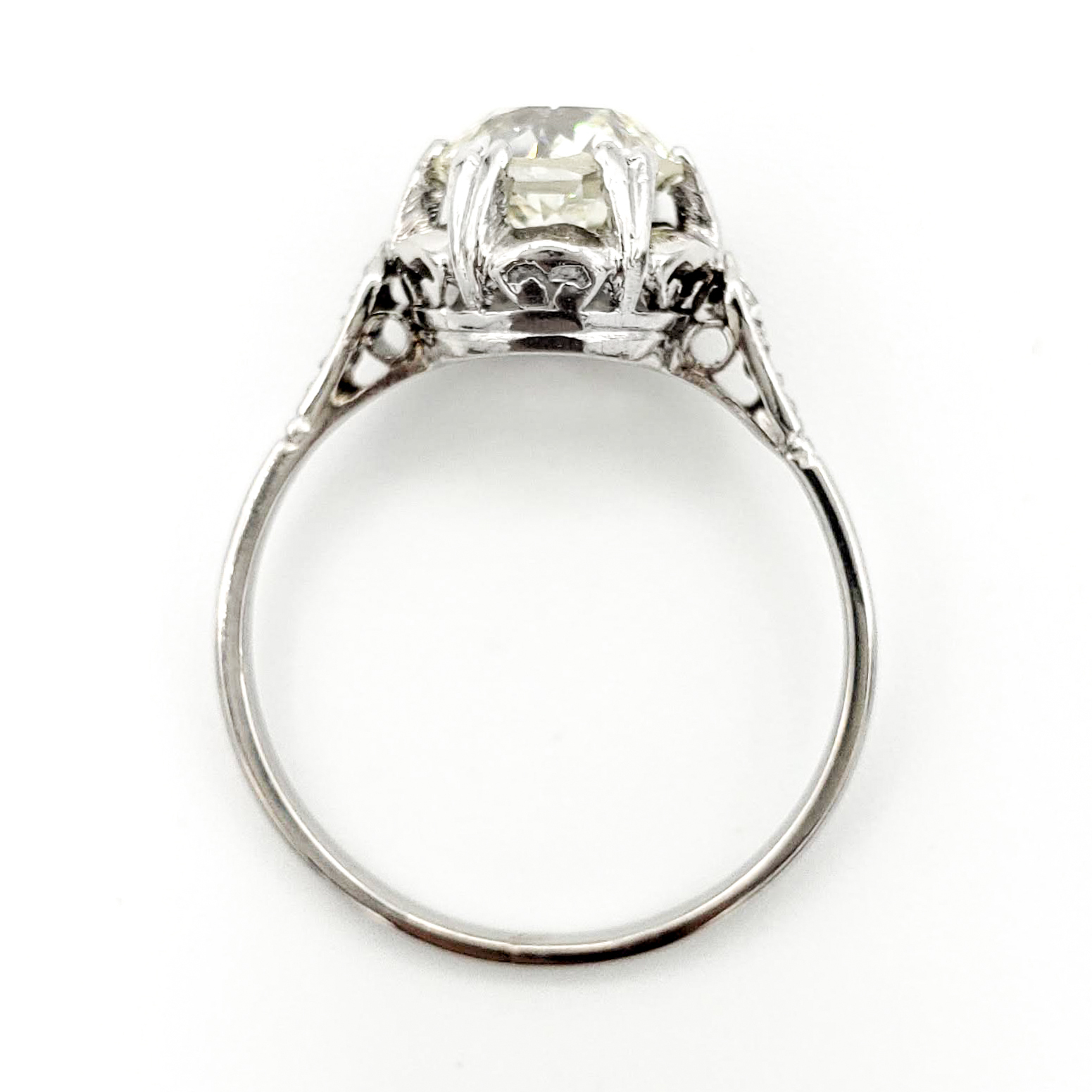 vintage-platinum-engagement-ring-with-1-63-carat-old-european-cut-diamond-egl-l-vs1