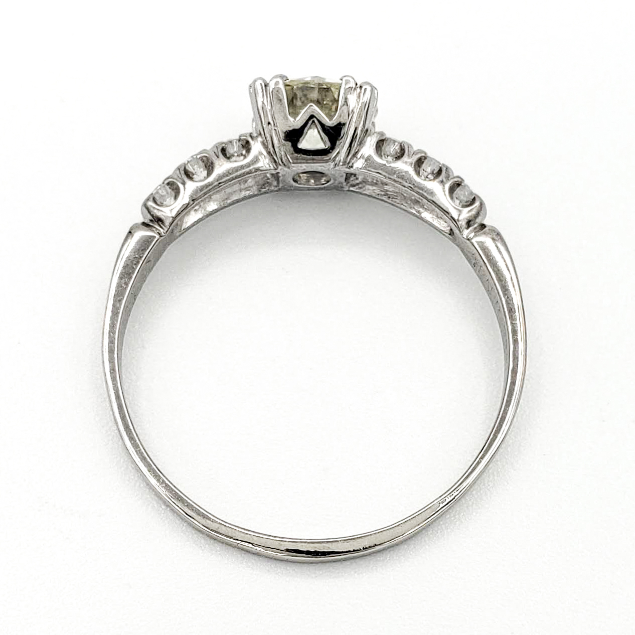 vintage-platinum-engagement-ring-with-0-84-carat-old-european-cut-diamond-egl-l-vs1