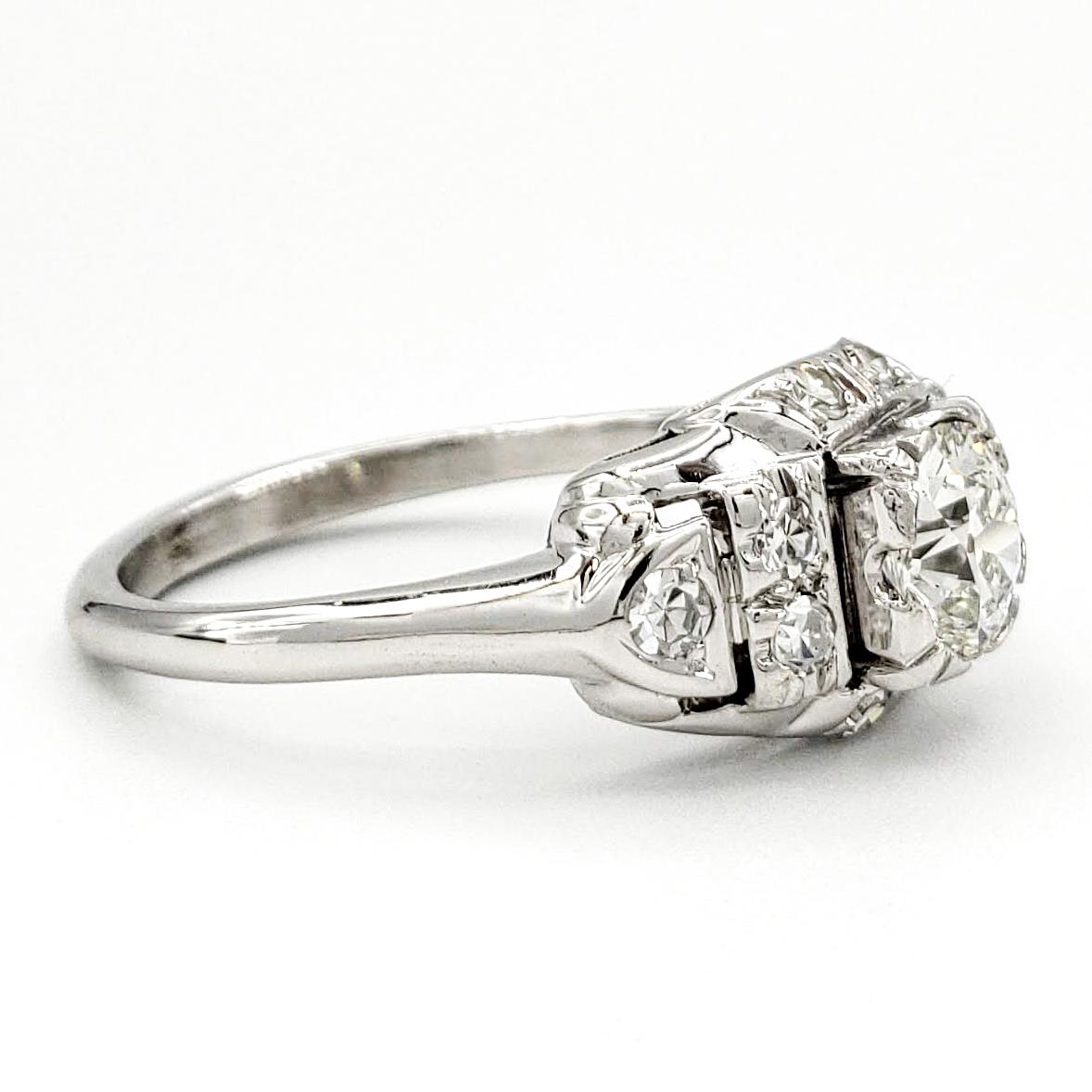 vintage-14-karat-gold-engagement-ring-with-0-55-carat-old-european-cut-diamond-egl-h-vs1