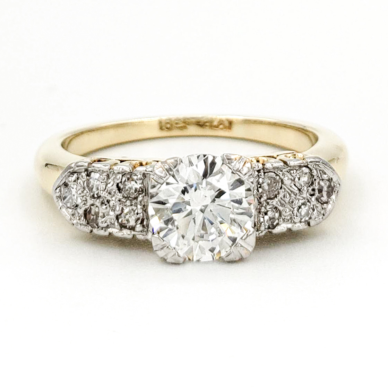 vintage-18-karat-and-platinum-engagement-ring-with-0-71-carat-round-brilliant-cut-diamond-egl-e-si1