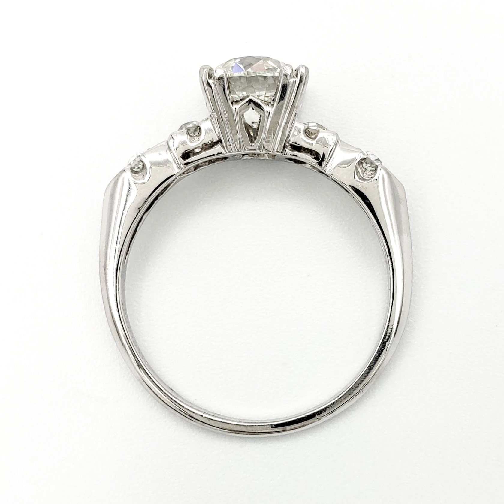vintage-platinum-engagement-ring-with-1-07-carat-old-european-cut-diamond-egl-i-vs2