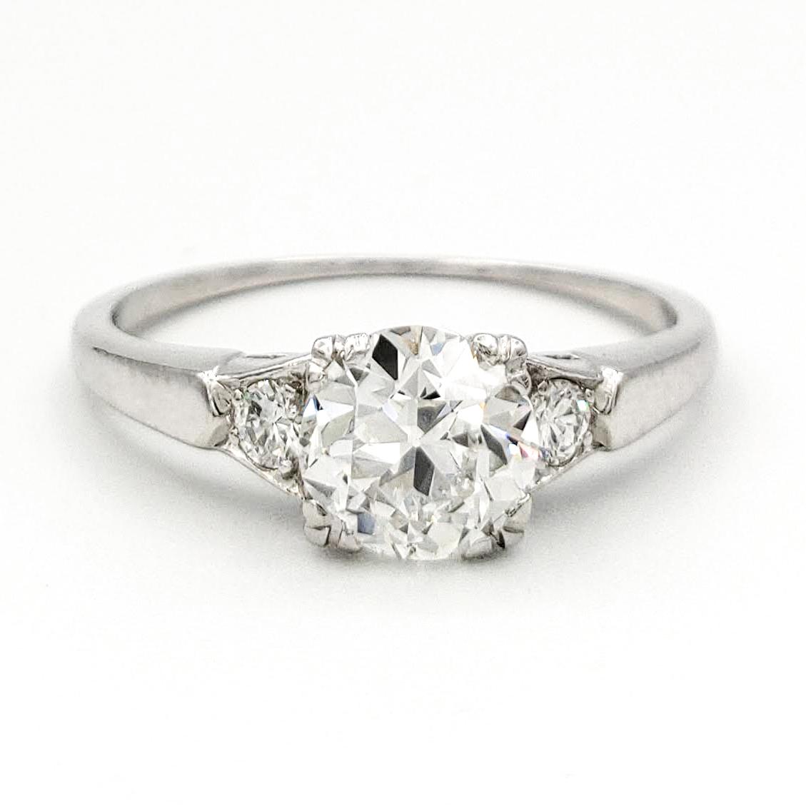 vintage-platinum-engagement-ring-with-0-74-carat-old-european-cut-diamond-egl-g-vs1