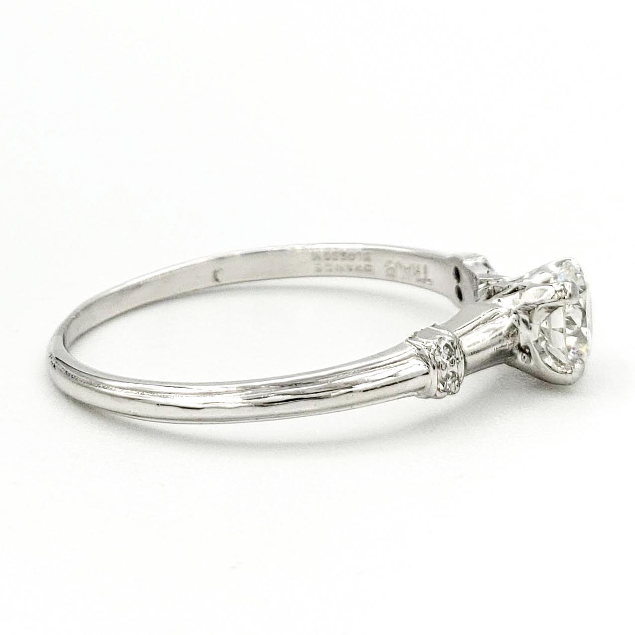 vintage-platinum-engagement-ring-with-0-45-carat-round-brilliant-cut-diamond-gia-h-vs2