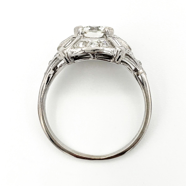 vintage-platinum-engagement-ring-with-0-99-carat-round-brilliant-cut-diamond-gia-g-vvs2