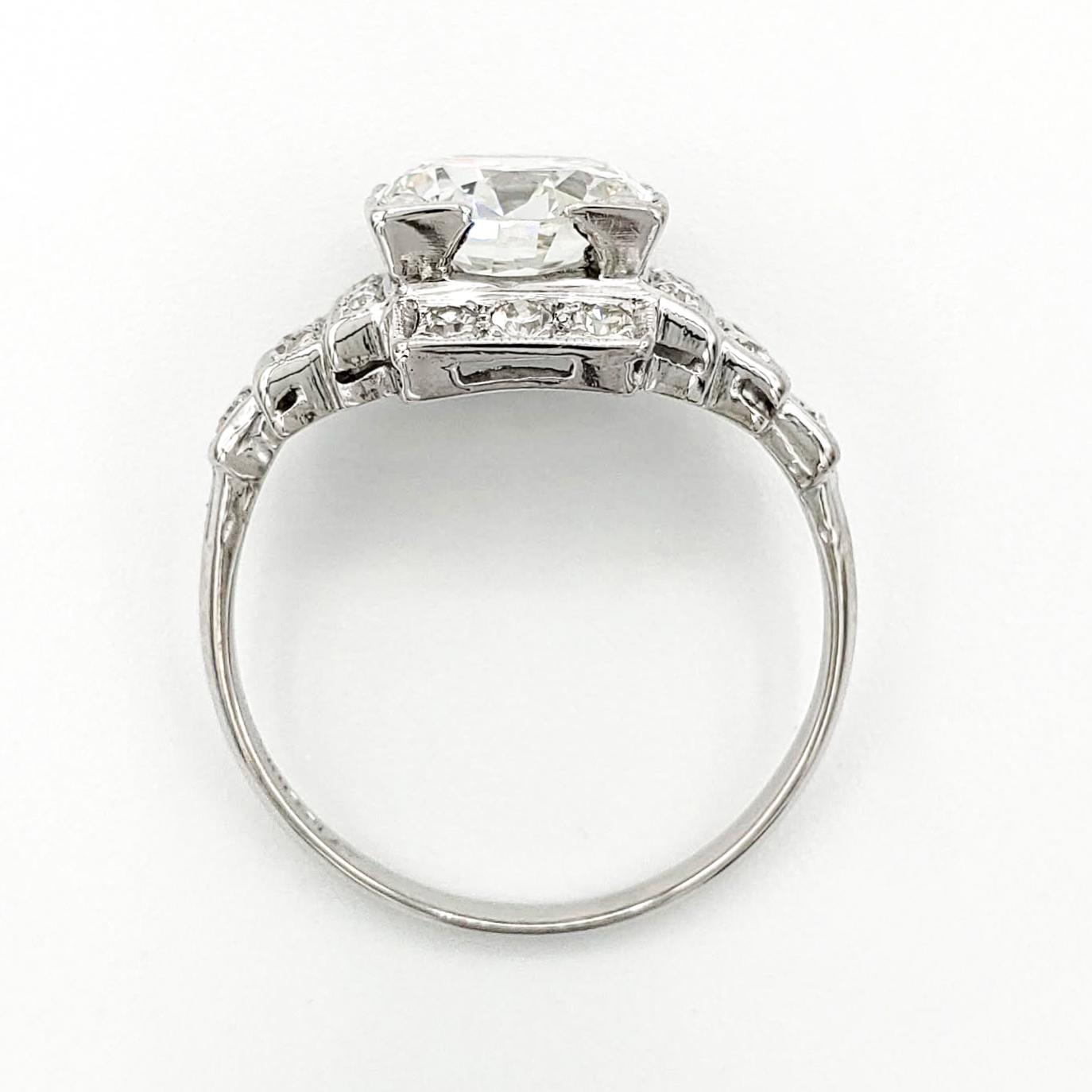 vintage-platinum-engagement-ring-with-1-78-carat-old-european-cut-diamond-gia-i-vs2