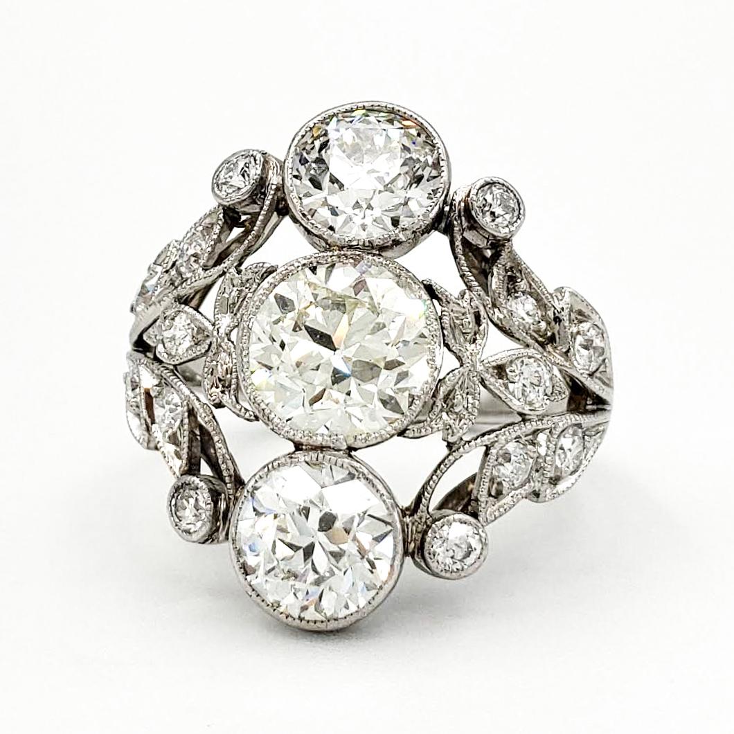 vintage-platinum-engagement-ring-with-1-41-carat-old-european-cut-diamond-gia-m-vs1