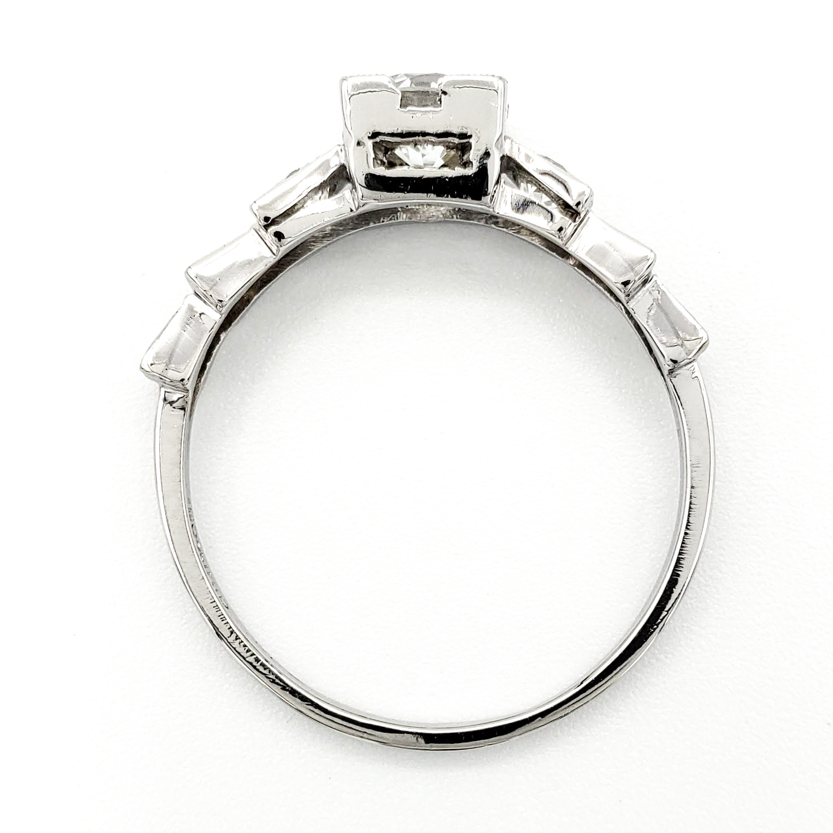 vintage-platinum-engagement-ring-with-0-70-carat-transitional-cut-diamond-gia-g-vvs2