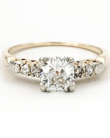 vintage-14-karat-gold-engagement-ring-with-0-49-carat-old-european-cut-diamond-egl-e-si1