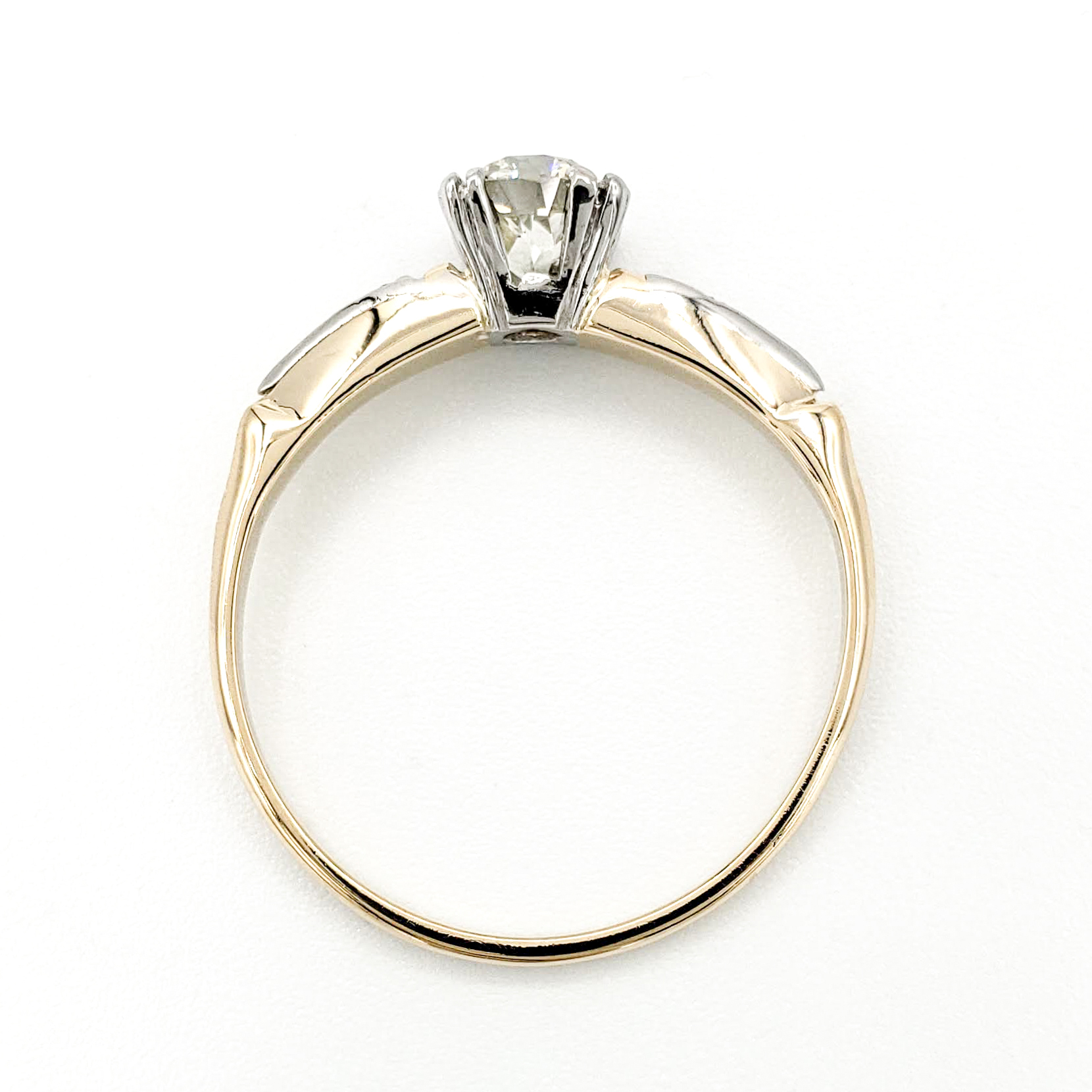 vintage-14-karat-gold-engagement-ring-with-0-58-carat-old-european-cut-diamond-egl-k-si1