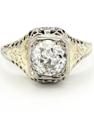 vintage-14-karat-engagement-ring-with-1-15-carat-old-european-cut-diamond-egl-f-si3