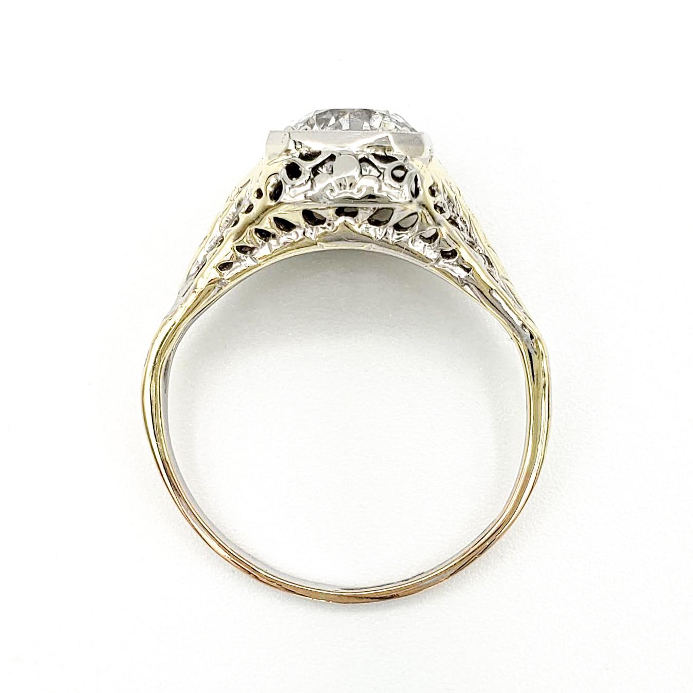 vintage-14-karat-engagement-ring-with-1-15-carat-old-european-cut-diamond-egl-f-si3