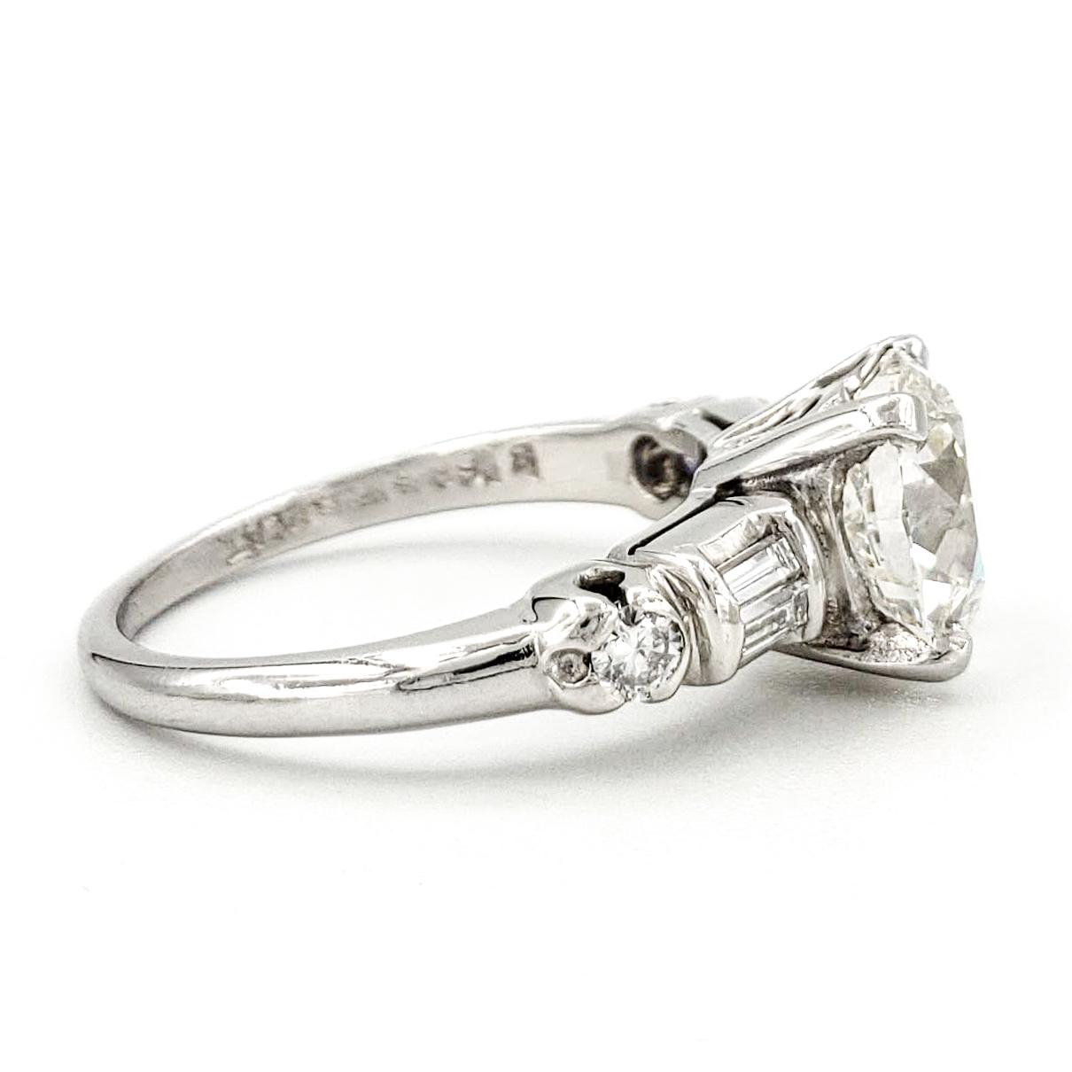 vintage-platinum-engagement-ring-with-1-72-carat-old-european-cut-diamond-egl-g-vs1