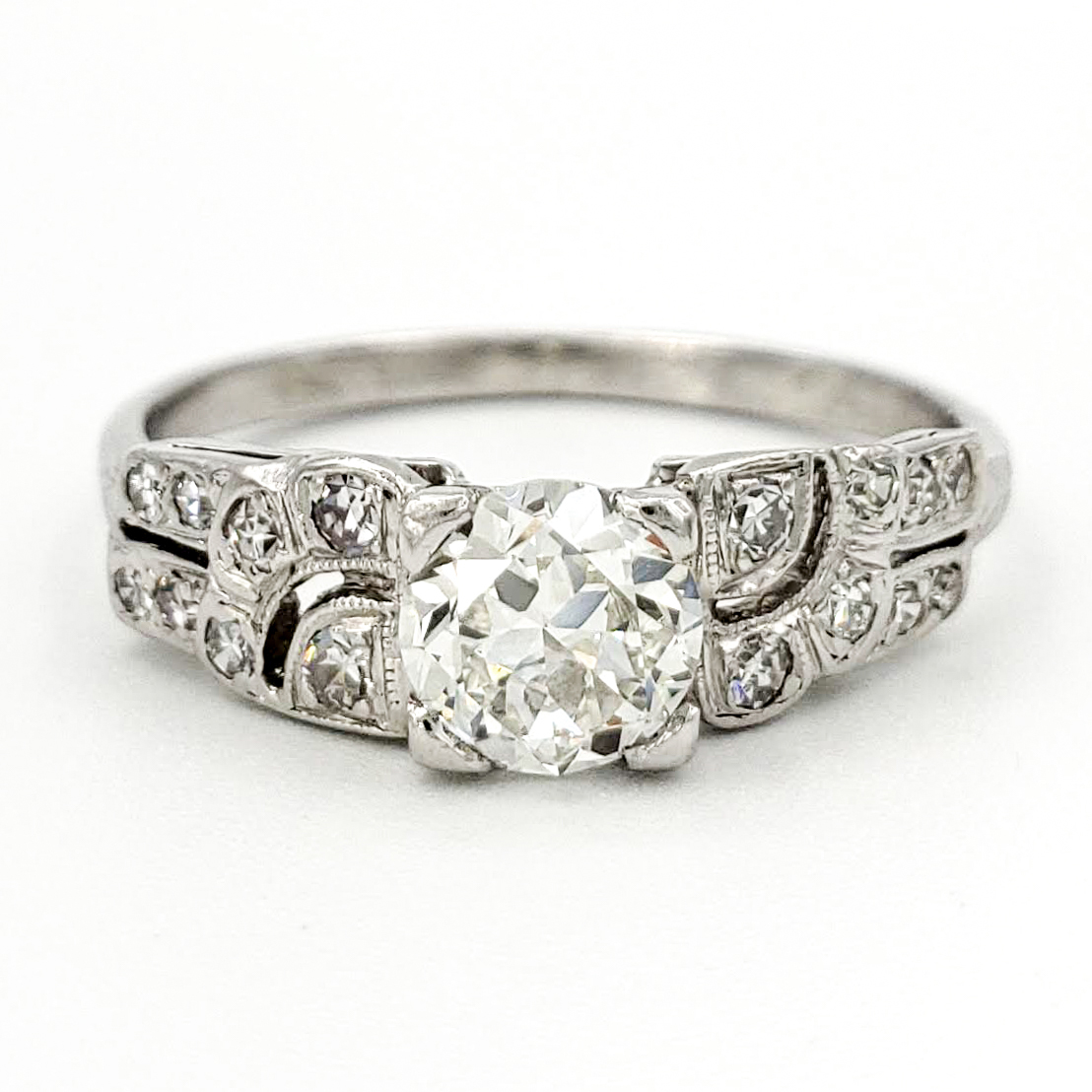 vintage-platinum-engagement-ring-with-0-59-carat-old-european-cut-diamond-egl-h-vs1