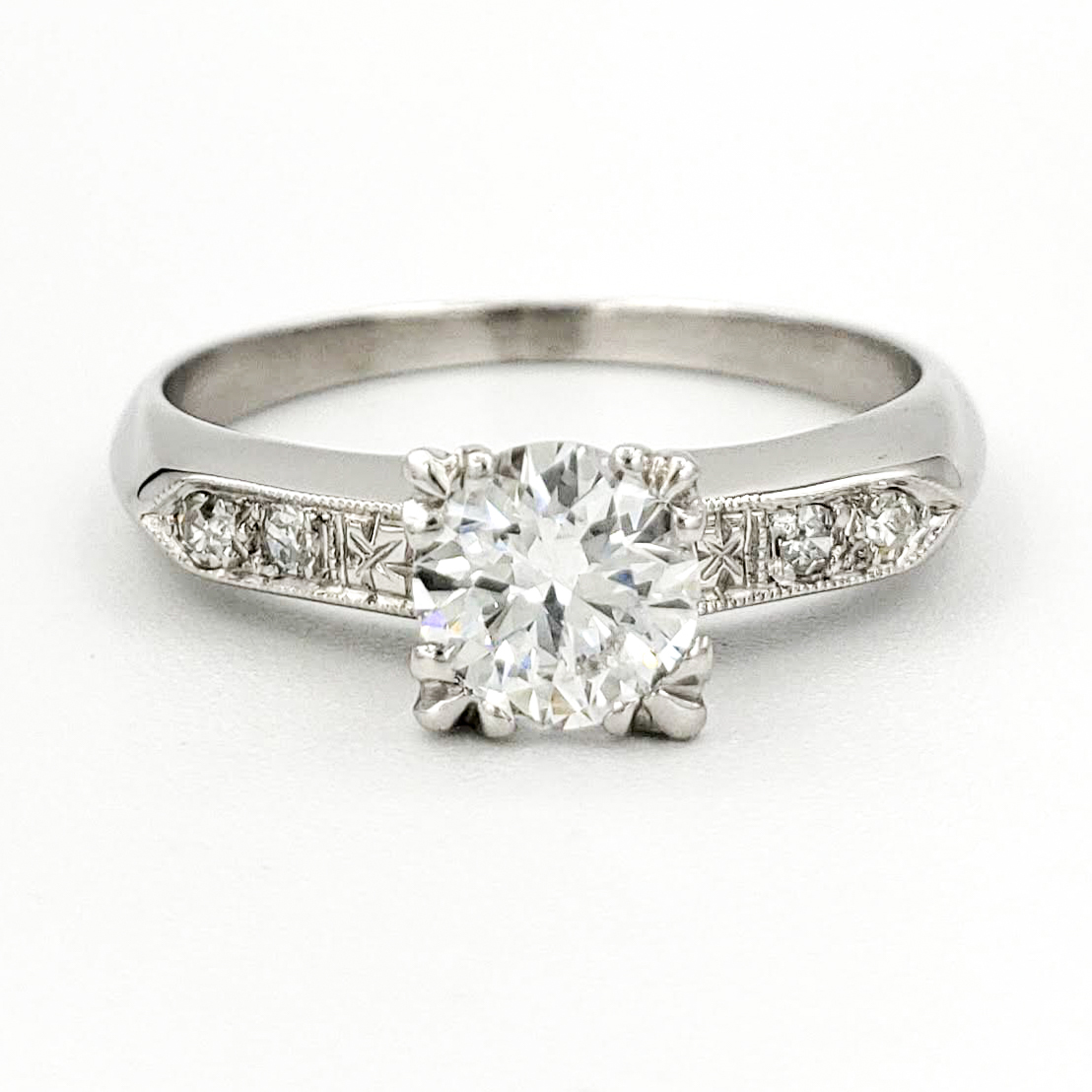 vintage-platinum-engagement-ring-with-0-50-carat-transitional-cut-diamond-egl-d-vs1