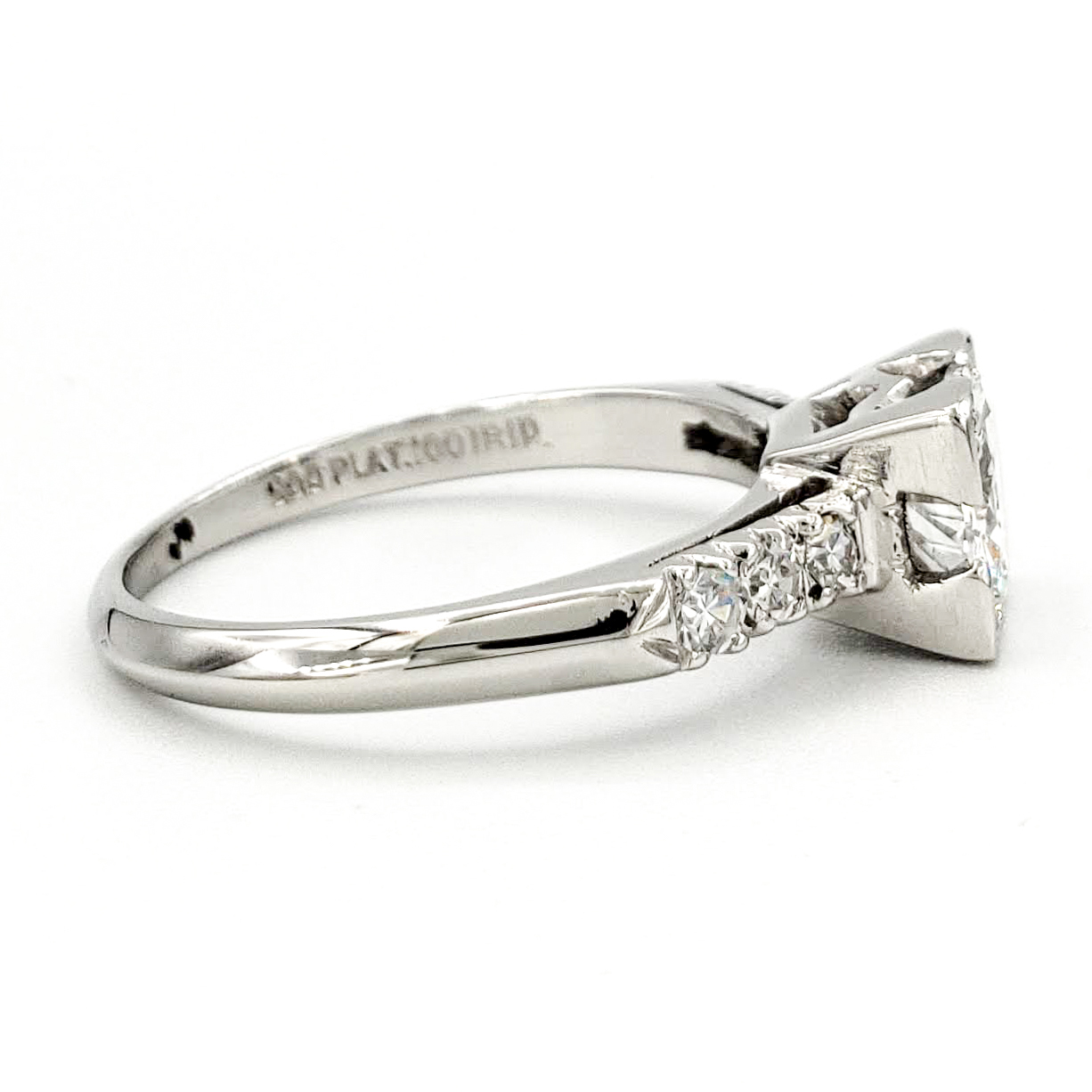 vintage-platinum-engagement-ring-with-0-63-carat-old-european-cut-diamond-egl-e-si1