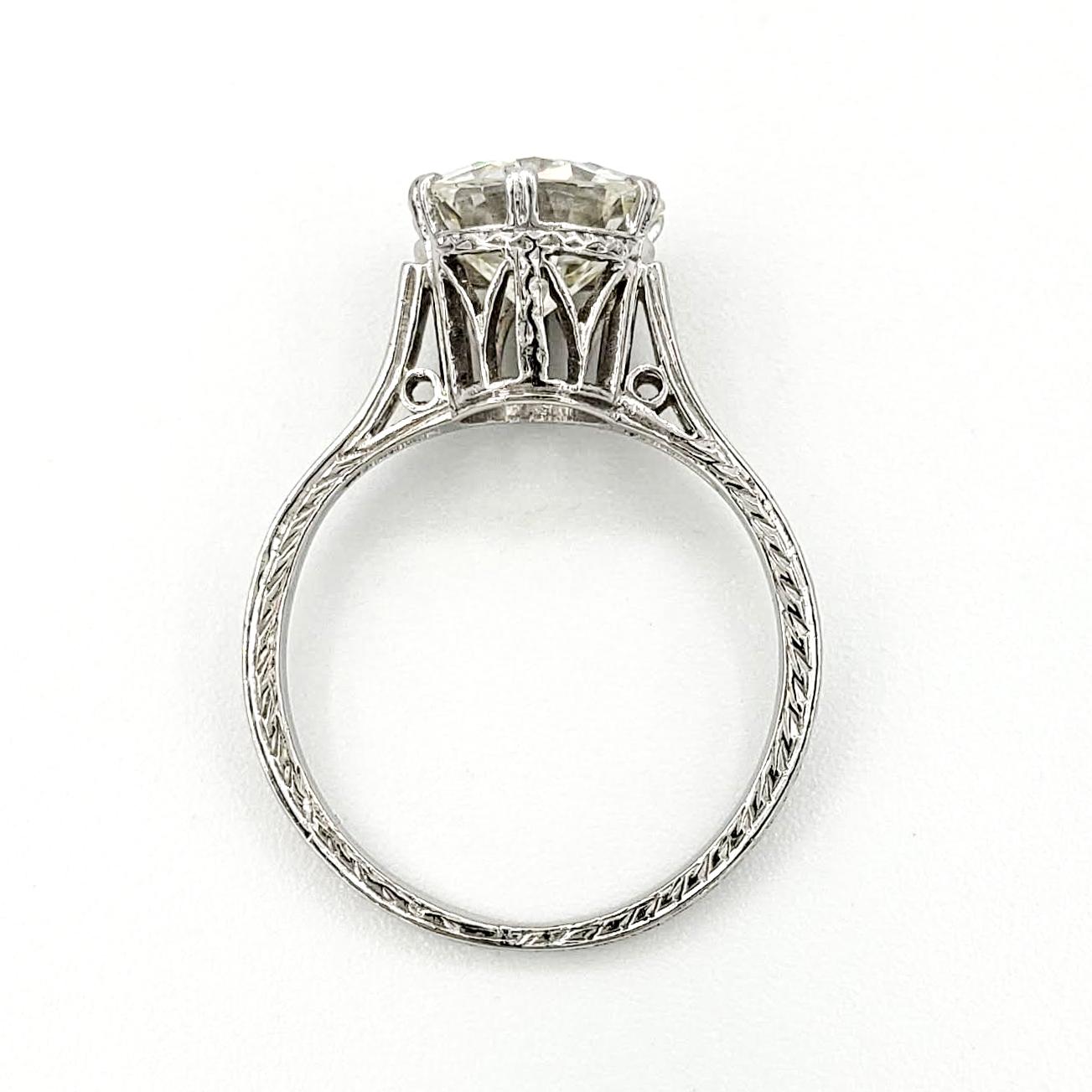 vintage-platinum-engagement-ring-with-1-63-carat-old-european-cut-diamond-egl-k-vs1
