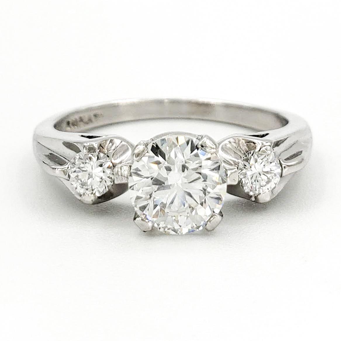 vintage-platinum-engagement-ring-with-0-70-carat-round-brilliant-cut-diamond-gia-g-vs1
