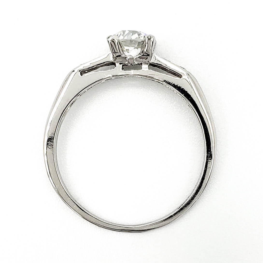 vintage-platinum-engagement-ring-with-0-43-carat-old-european-cut-diamond-egl-e-vs1-2