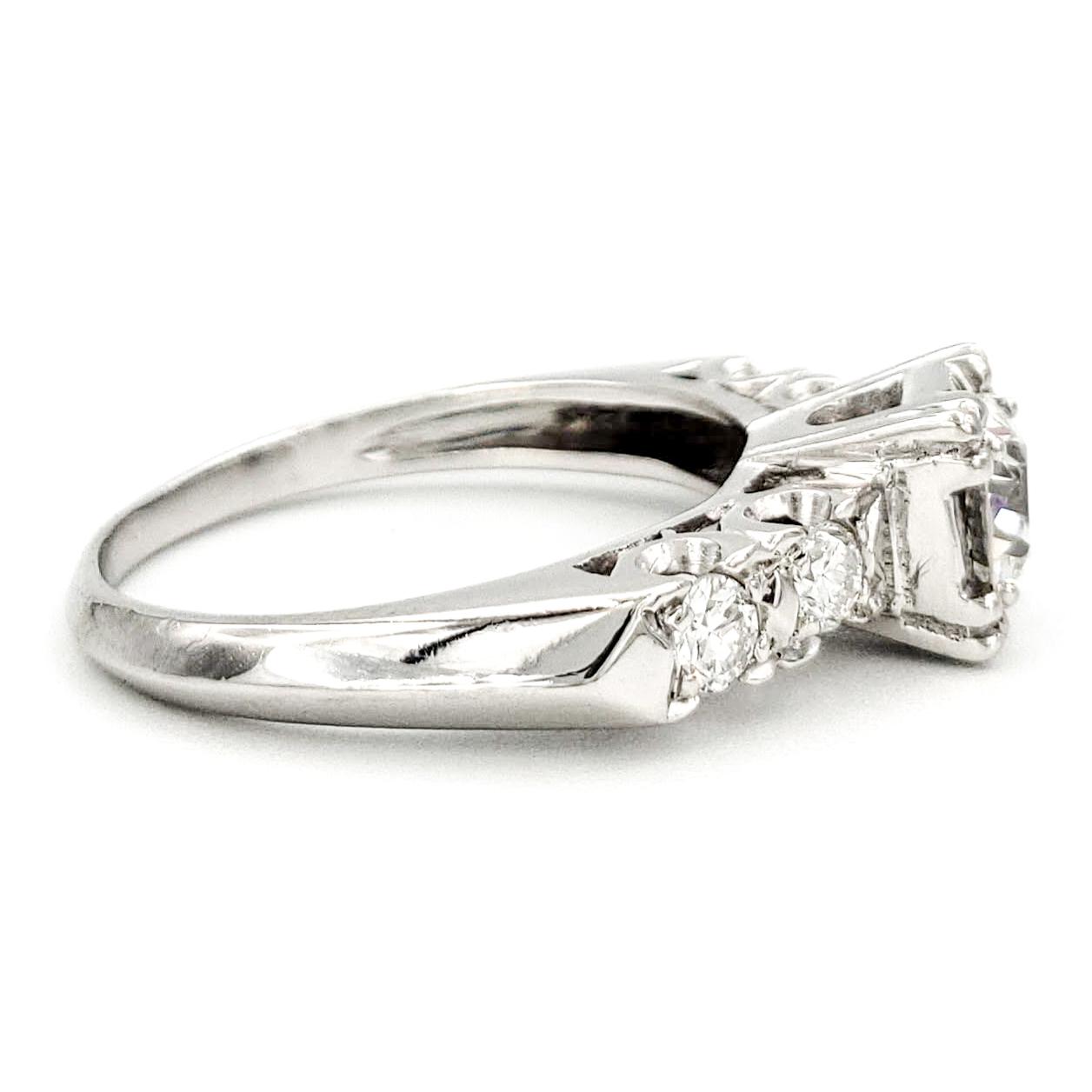 vintage-platinum-engagement-ring-with-0-49-carat-old-european-cut-diamond-egl-e-vs1