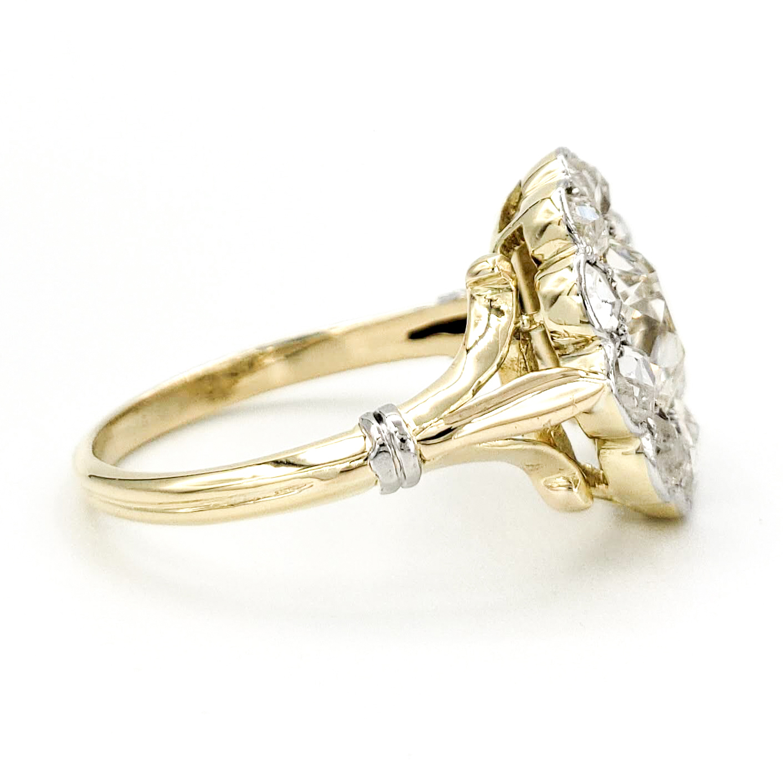 vintage-18-karat-gold-engagement-ring-with-1-18-carat-old-european-cut-diamond-egl-k-vs2