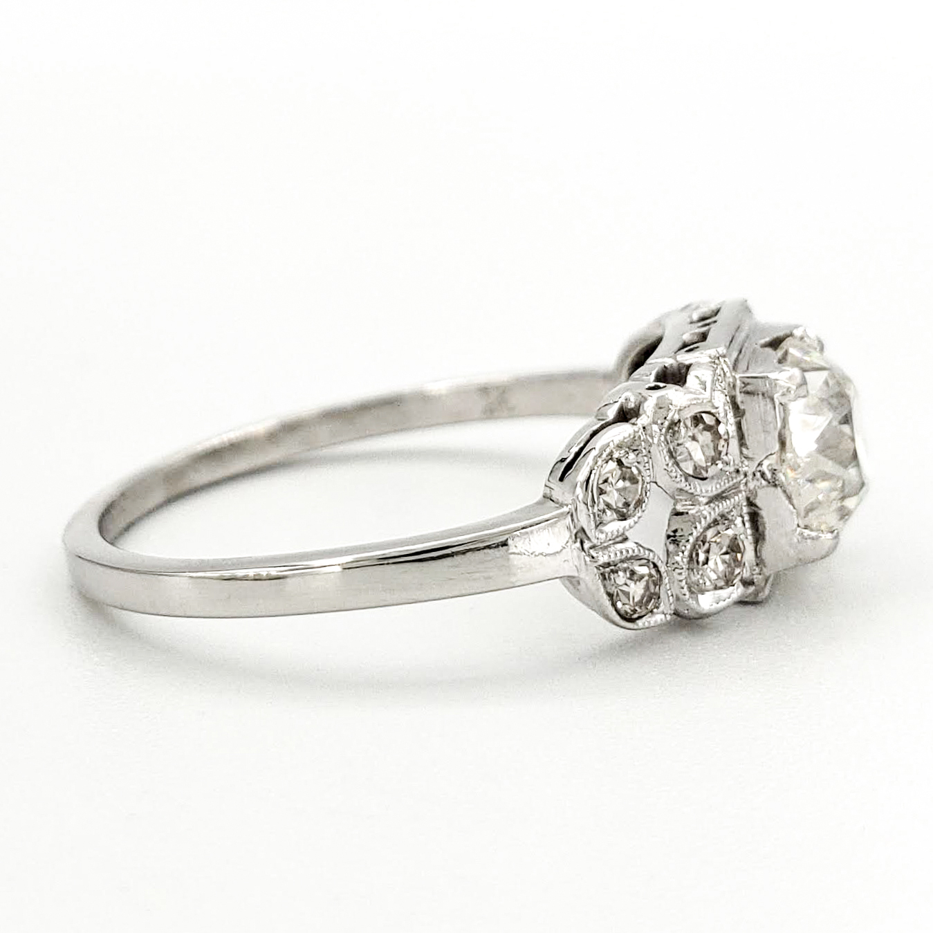 vintage-platinum-engagement-ring-with-1-01-carat-old-european-cut-diamond-egl-h-si1