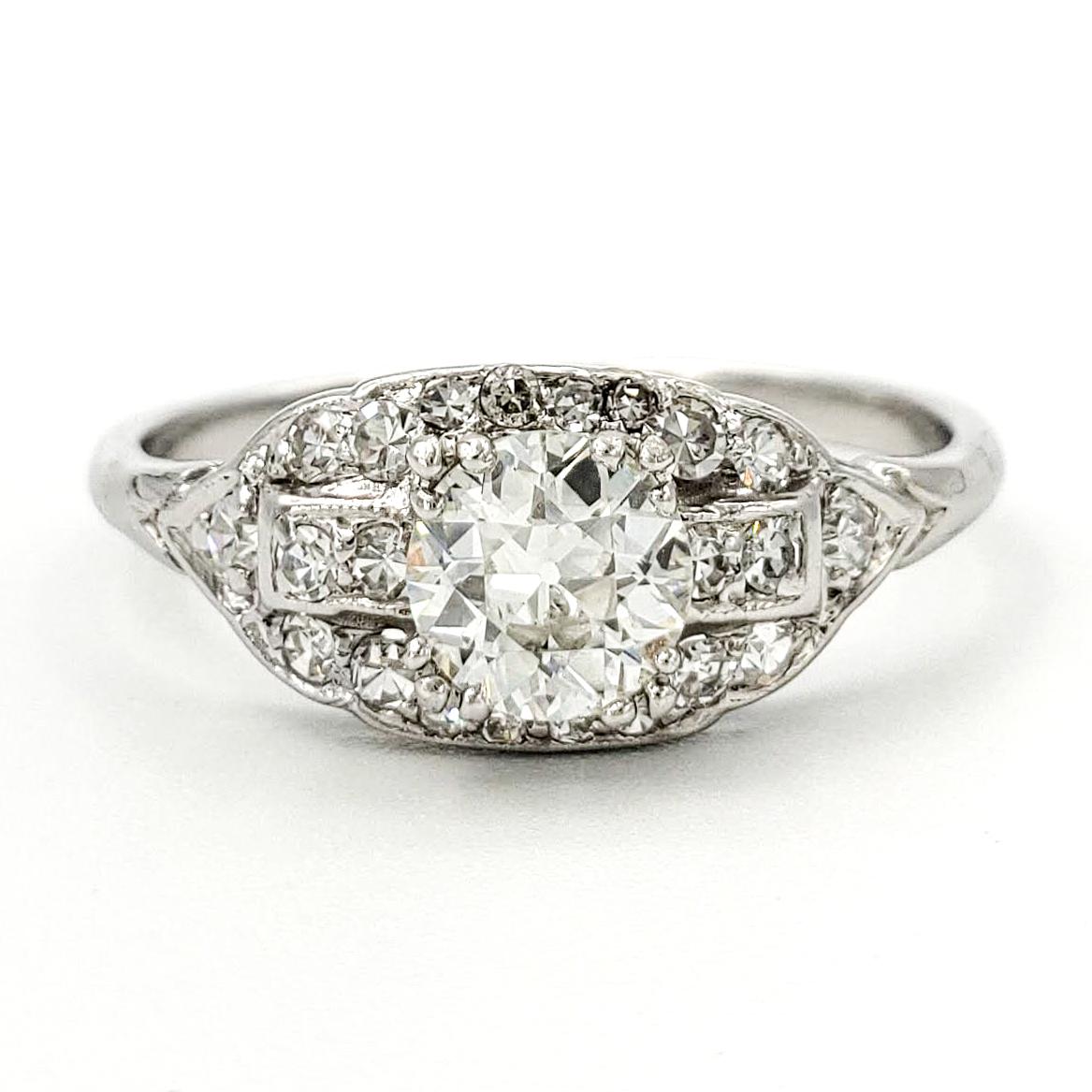 vintage-platinum-engagement-ring-with-0-59-carat-old-european-cut-diamond-egl-h-vs2-2