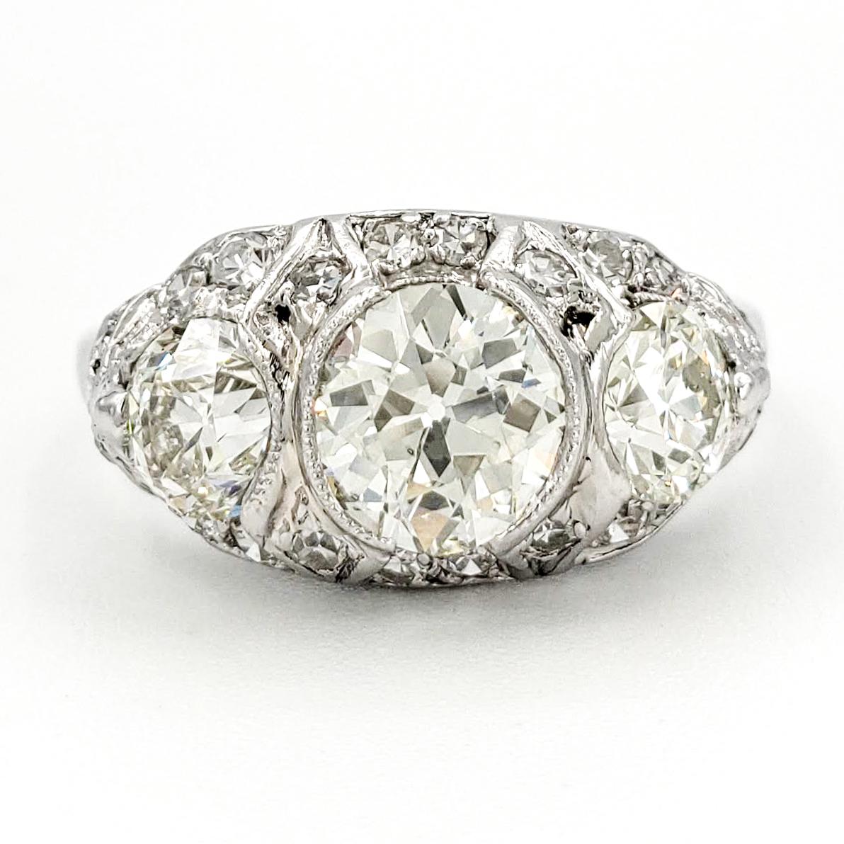 vintage-platinum-engagement-ring-with-1-01-carat-old-european-cut-diamond-egl-j-si1