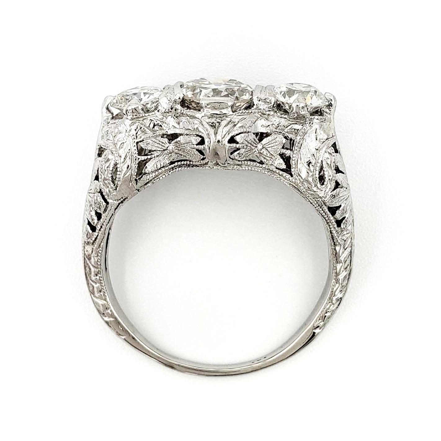 vintage-platinum-engagement-ring-with-0-83-carat-old-european-cut-diamond-egl-h-si1