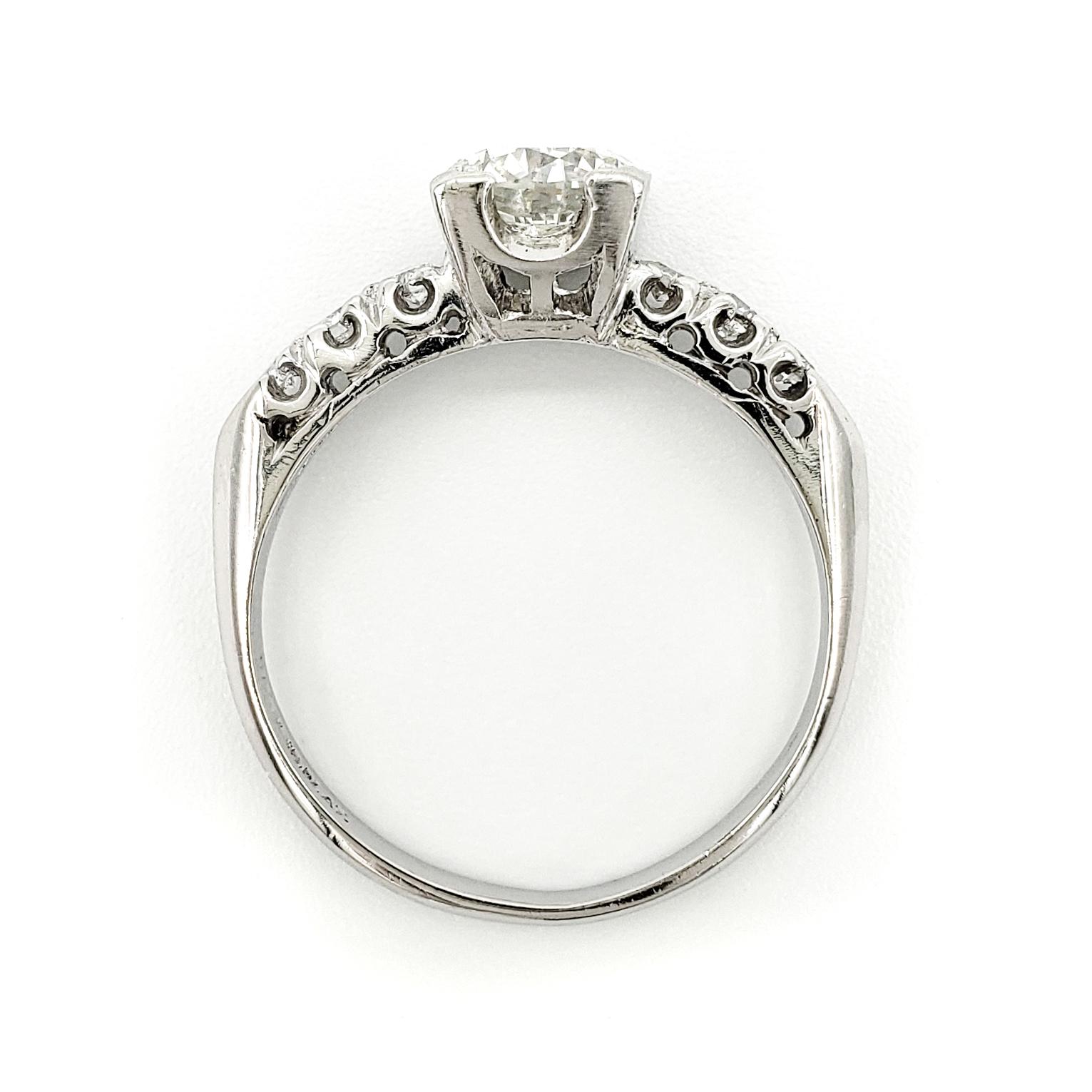 vintage-platinum-engagement-ring-with-1-01-carat-old-european-cut-diamond-egl-h-si1-2