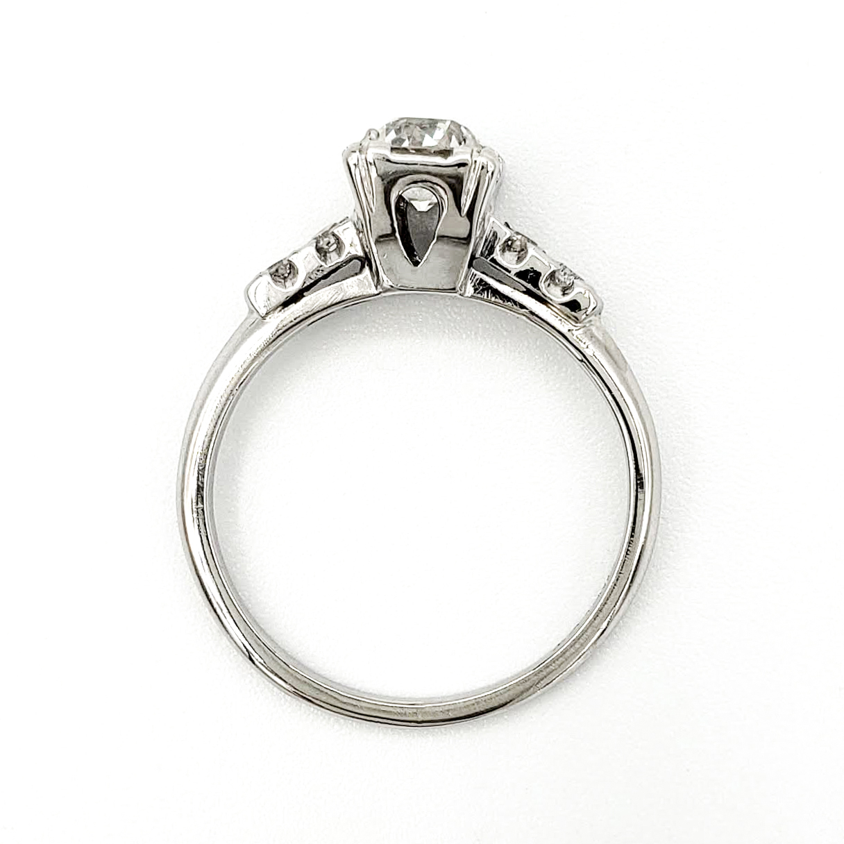 vintage-platinum-engagement-ring-with-0-51-carat-old-european-cut-diamond-egl-h-si1