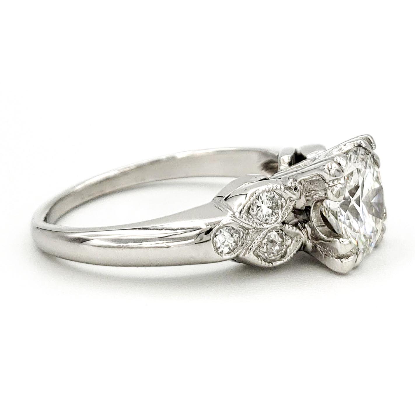 vintage-platinum-engagement-ring-with-1-06-carat-transitional-cut-diamond-egl-g-vs1