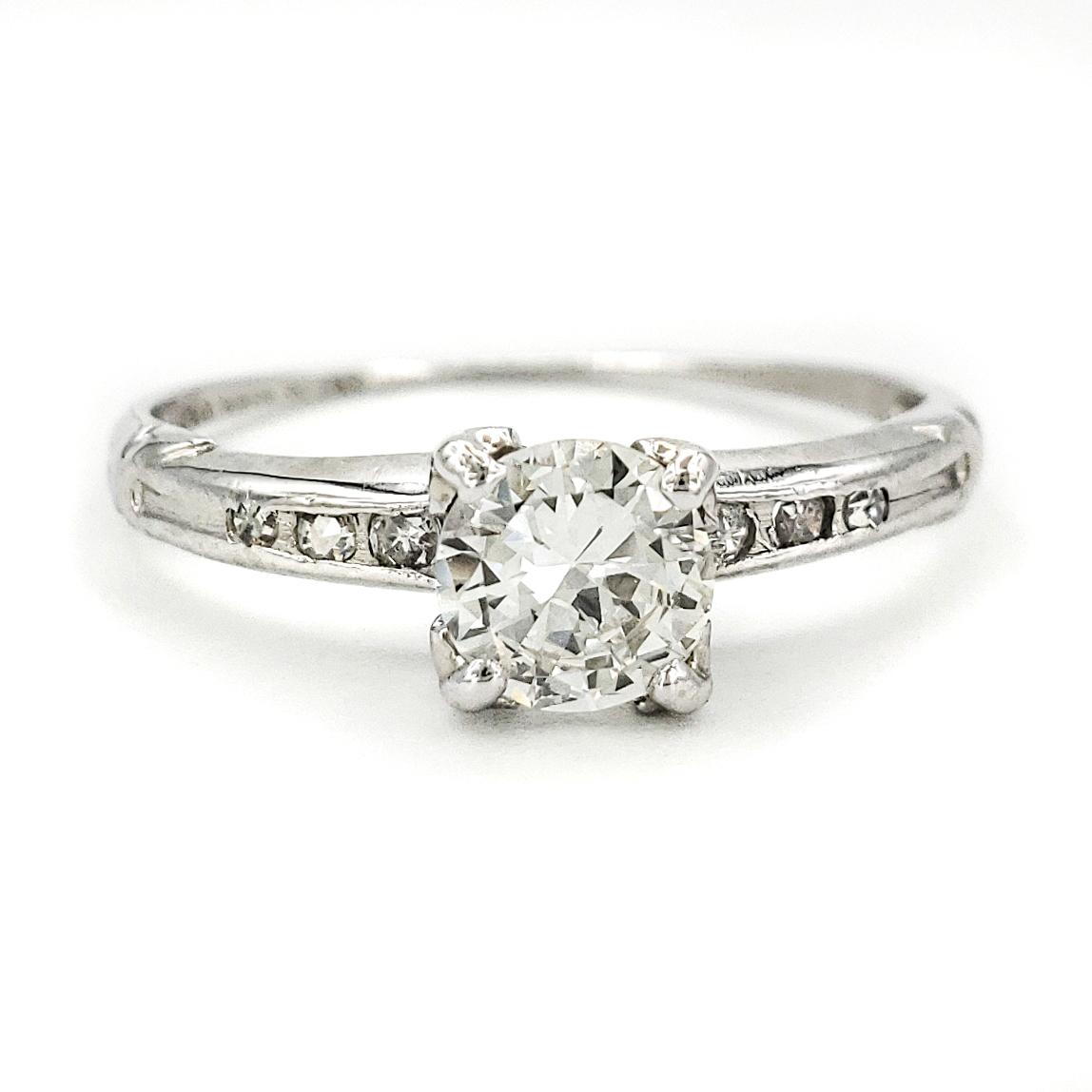 vintage-platinum-engagement-ring-with-0-45-carat-transitional-brilliant-cut-diamond-egl-h-vs1