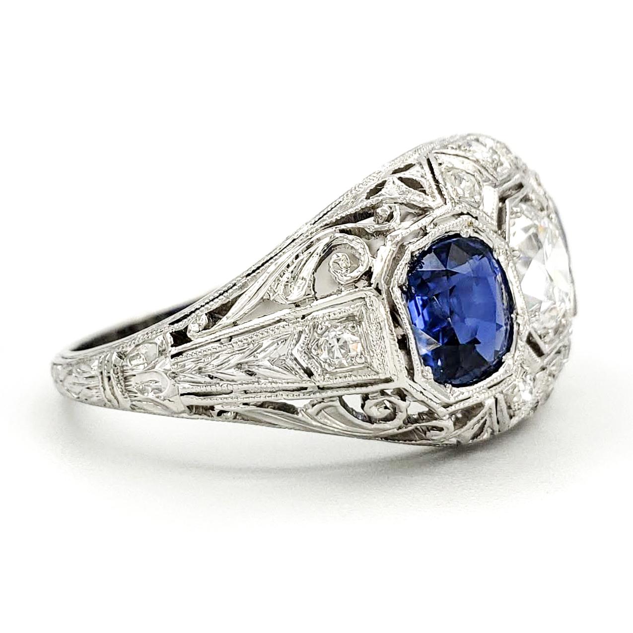 estate-platinum-engagement-ring-with-0-77-carat-old-european-cut-diamond-gia-e-vs2
